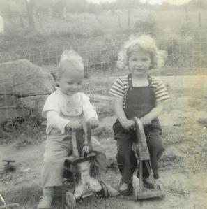 Carrot thug and circus girl.