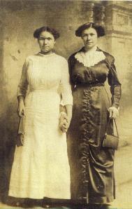 Catherine & Barbara (Bochi) Oryniak, circa 1913.