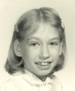 How the heck did the boys resist this? As I got older, my teeth got bigger.