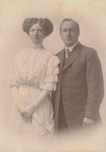 Great Aunt Mary and Uncle Clifford