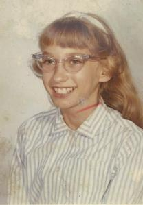 Me in 1962, age twelve, and I was NOT a bossy brat.