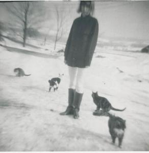 1965 -  Destined to only have cats as companions.