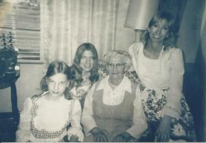 Paula, Susan, Bochi, and me (circa 1972)