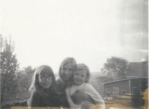 Three sisters (circa 1969) Susan, me, Paula